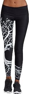 JJLIKER Women Pattern Printing Yoga Pants Full Length Elastic Skinny Trouser Gym Fitness Exercise Athletic Leggings
