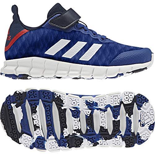 adidas adidas Unisex-Kinder Rapidaflex EL K Turnschuhe, Blau (Reauni/ftwbla/Maruni), 38 EU