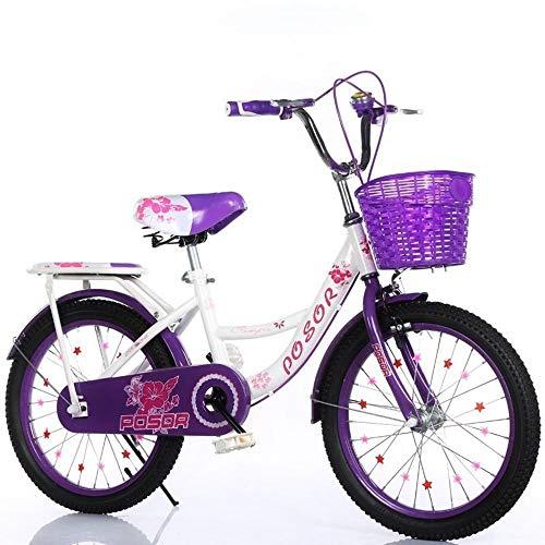 nobrand Schöne Fahrradschüler Fahrradmädchen 20 Mädchen 22 Zoll 8-10-12-15 Jahre alte Mittelschulkinder Kinder Kinder
