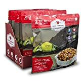 Wise Company Freeze Dried Camping Food, Chili Mac With Beef (6 Count Pack) - Great Meals For Hiking,...