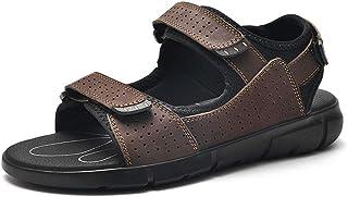 GBZLFH Sandales d'été pour Hommes, Chaussures de Plage à Fond Souple pour l'extérieur, antidérapantes et Respirantes, adap...