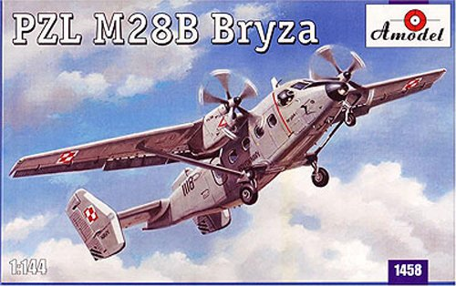 1/144 Polish PZL-M28B Buruza twin-engine multi-purpose machine AM1458 (japan import)