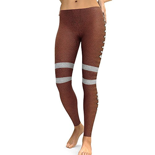 Deelin Dames Sport Casual Creative bedrukt yoga fitness leggings lopen gym stretch sport broek