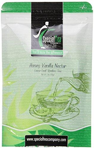 Special Tea Loose Leaf Rooibos Tea, Honey Vanilla Nectar 3 Ounce