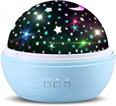 TOFOCO COM Newest Star Projector Night Lights for Kids (Blue) - Best Gift Ideas (Blue)