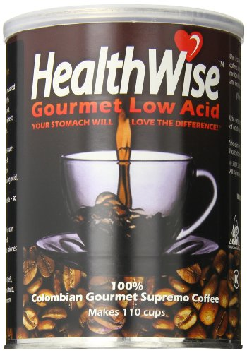 HealthWise Low Acid Coffee 100 Colombian Supremo