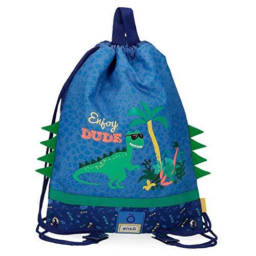 Enso Bolsa de merienda Dino, Color Multicolor