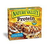 Nature Valley Chewy Granola Bar, Protein, Coconut Almond, 5 Bars - 1.42 Ounce each bar, 7.1 Ounce...