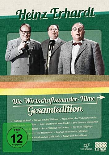 Heinz Erhardt: Die Wirtschaftswunder-Filme Gesamtedition (14 Discs)