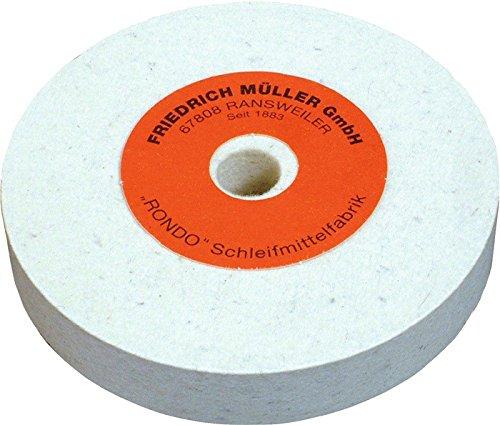 Filzpolierscheibe Bohrung 20mm Wollfilz, Herstellerbestellnummer: 4000843474