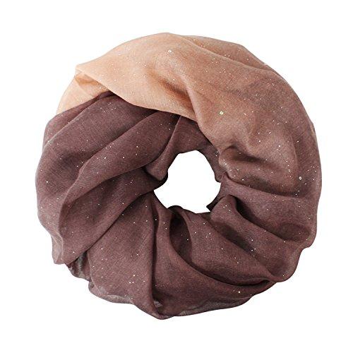Glamexx24 Glamexx24 Damen schal leichter Langschal Loop Schlauchschal Tuch Viele Farben