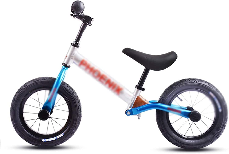 Ahorre 35% - 70% de descuento Bicicleta sin pedales YXX Bicicleta para Niños de 2 3 3 3 4 5 6 años para Niños y niñas, Manillar Ajustable, Marco de aleación de Aluminio (Color   La Plata)  descuento online