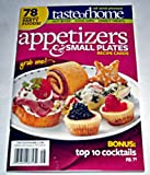 Taste of Home Appetizers & Small Plates Recipe Cards magazine. 78 Fabulous Party Foods!