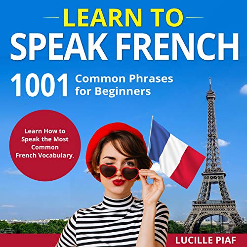 Page de couverture de Learn to Speak French