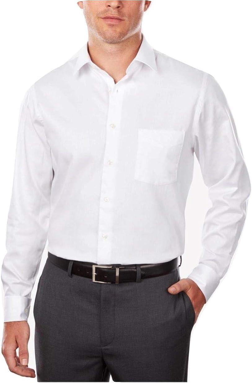 Van Heusen Flex Collar Classic Fit Dress Shirt, Size 15 32-33 White