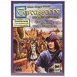Asmodee Carcassonne - Graf, König und Konsorten, 6. Erweiterung, Familienspiel, Deutsch