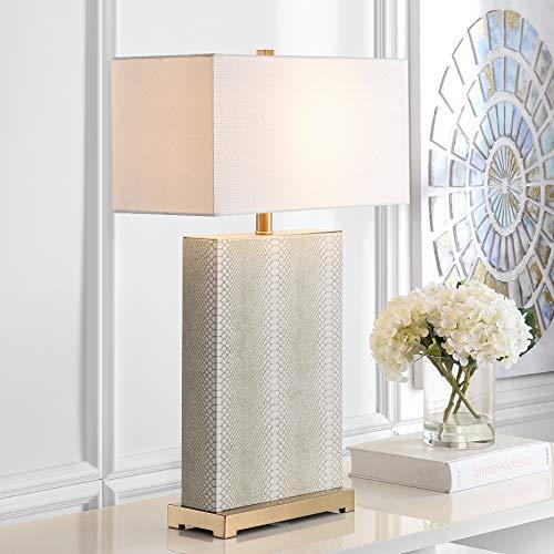 Safavieh Lighting Collection Joyce Cream 27.75-inch Table Lamp (Set of 2)