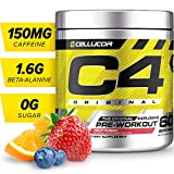 C4 Original Pre Workout Powder Fruit Punch | Sugar Free Preworkout...