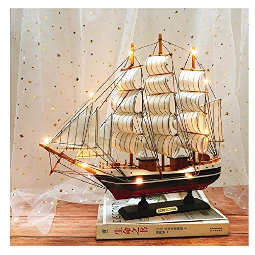Warm harbor, birthday gifts, boys send practical friendship boyfriend-Small 24cm ink + lamp