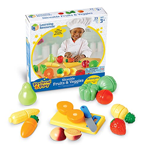 Learning Resources Fruits/Légumes à Couper Pretend & Play