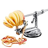 HTYX Quick Peeling Elderly Fruit Knife Multifunction Fruit Apple Peeling Machine Family Kitchen Hospital Mechanical Peeler Silver