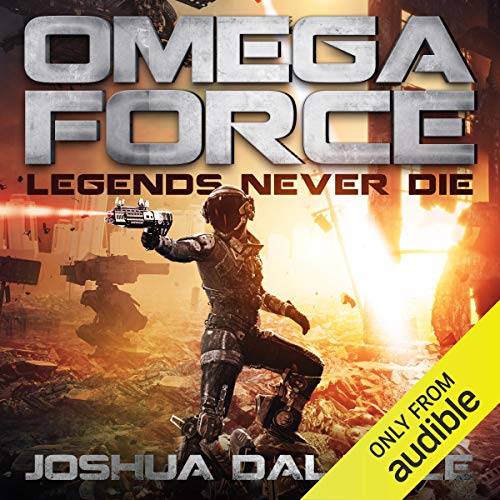 Legends Never Die audiobook cover art