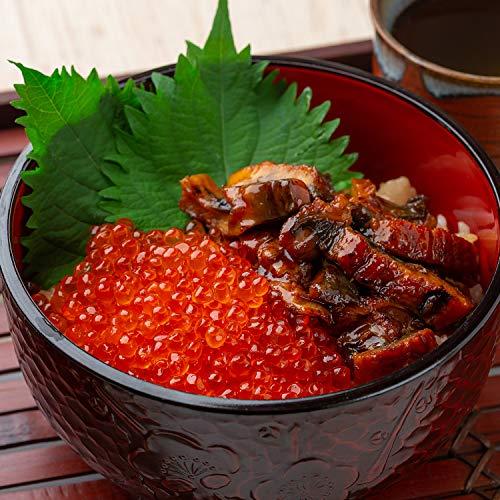OWARI いくら醤油漬け 冷凍 鱒卵 (いくら250g&うなぎまぶし2食セット)