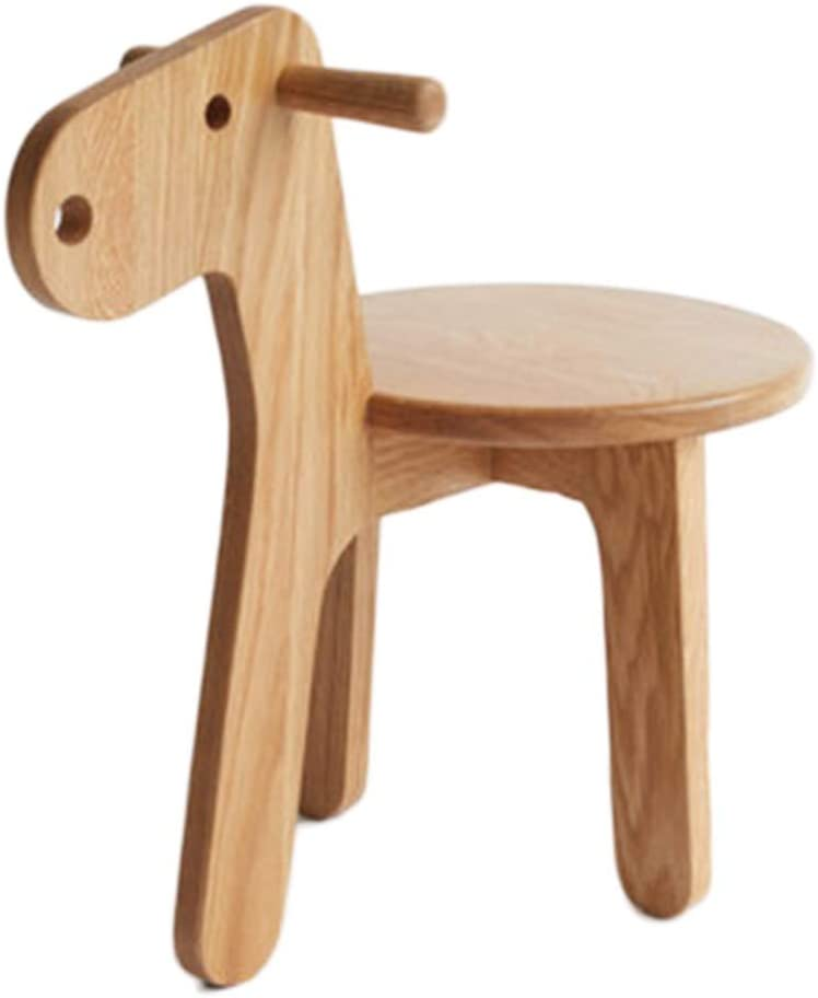Ranking TOP8 Stools Solid Wood Children's Home Low 35% OFF Wooden Living Horse Small