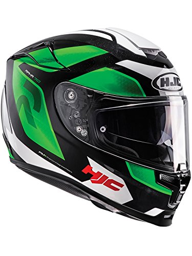 Casco de moto HJC Rpha 70Grandal, 8804269222553, verde, XS
