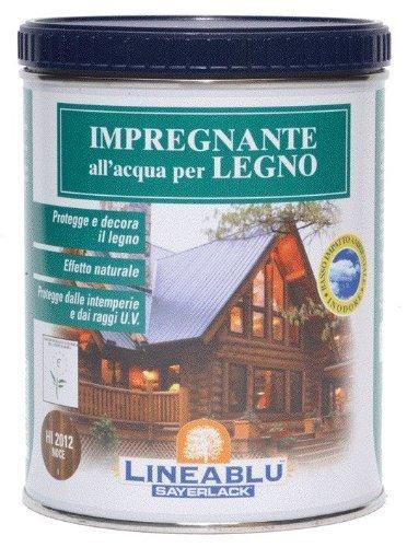 Impregnante ad Acqua per Legno Sayerlack art. Hi2012 colore Noce 750 ml