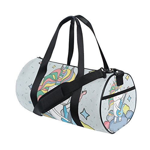 Mnsruu ISAOA - Bolsa de Deporte Ligera para Guitarra, Diseño de Unicornio