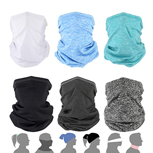 Breathable Neck Gaiter Face Mask Men - KYOMILY Cooling Neck Gaiter UV Protection, Balaclava Neck Gaiters for Hiking,Running