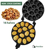 Walnut Cookie Maker 16 halves Non-stick Cookies Pastry