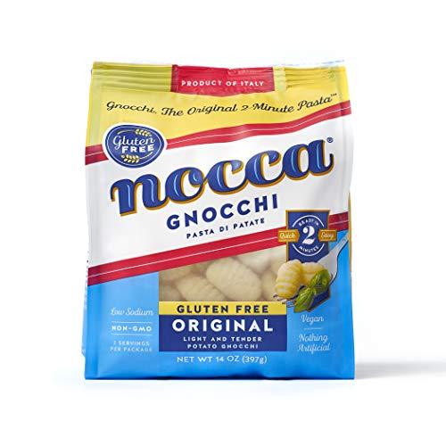 Nocca Gnocchi Potato Dumpling Pasta, Original Gluten Free, 14 Ounce Package