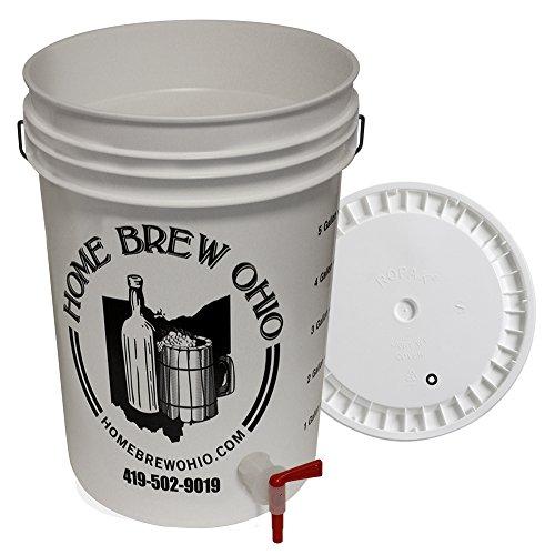 Beer Bottling Bucket with Lid and Spigot (6.5-Gallon)