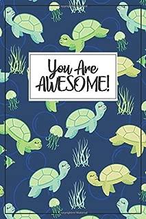 Sea Turtle Journal - Sea Turtle Gift: A blank lined Sea Turtle notebook, jellyfish journal, jellyfish notebook, jellyfish gift, Sea Turtle birthday ... Marine Biologist Gift, Ocean Gift for kids