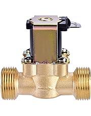 DC 24 V 3/4 inch magnetisch magneetventiel van geel koper voor de watercontrole.