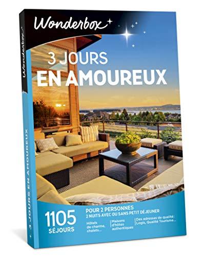 Wonderbox – Coffret cadeau fête des mères - 3 JOURS EN...