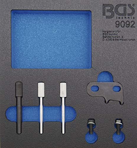 BGS 9092 | Werkstattwageneinlage 1/6: Motor-Einstellwerkzeug-Satz | für MINI, Citroën, Peugeot 1.6 Diesel