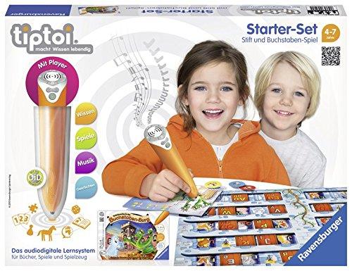 tiptoi® Starter-Set Schatzsuche in der Buchstabenburg: tiptoi® Stift mit Player und Spiel Schatzsuche in der Buchstaben-Burg