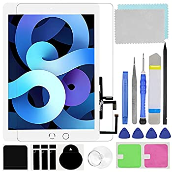 Touch Screen Digitizer for iPad 5 2017 9.7 inch Generation A1822 A1823 Front Glass Replacement  with Tempered Glass Film,Tool Repair kit,with Home Button