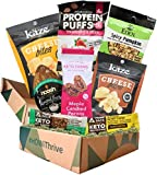 Keto Snacks Variety Pack: 2020's Newest Low Carb ( 4g) & Keto Friendly Snack Foods. Each Keto Box Includes Munk Pack Keto Granola Bar, Cheese Whisps, Protein Puffs, Candied Pecans + More. - 8 Count