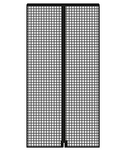 Schellenberg 50642 - Mosquitera magnética (90 x 210 cm), color gris