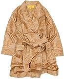 【ETRO】エトロ 日本製 ペイズリー 婦人 コットン ガウン(ルームウェア) ベージュ size L