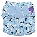 Bambino Mio, mioduo cobertor de pañal reutilizable, libélula inocente, talla 2 (9 kg+)