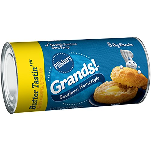 Pillsbury Grands!, Southern Homestyle, Butter Tastin', 8 ct, 16.3 oz