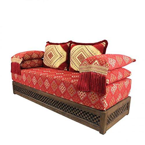 Casa Moro Oriental sofá marroquí, Asiento cojín Asiento, Esquina, Sark kösesi, sillas Nadia con Estructura de Relleno de inspiración