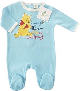 0e6d5587b NUEVO | Pelele Winnie the Pooh | Pijama niño Celeste 56 62, 68, 74
