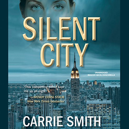 Silent City audiobook cover art