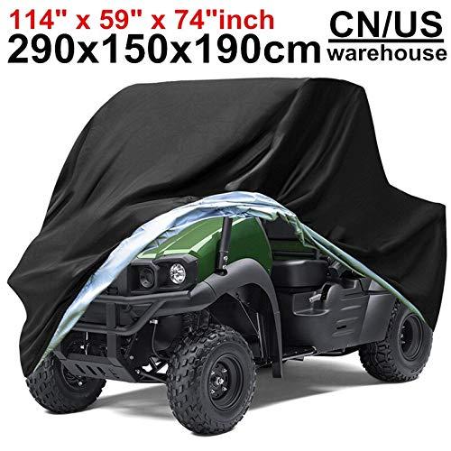 290x150x190cm XXXXL 210D Impermeable a Prueba de Lluvia de Nieve Polvo UV Cubiertas Protector de la Motocicleta Vespa vehículo ATV UTV Cubierta del Motor